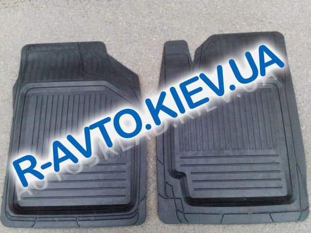 Коврики в салон резиновые Дубно (Украина), Lanos, Sens (корыто) к-т 2шт. передние