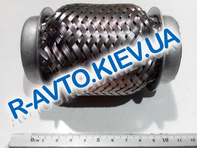 """Гофра приемной трубы 45х100 мм., Amulet, """"JMJ"""" Польша (JMJ 45X100P)"""