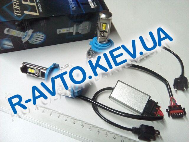 Лампа светодиод с|ц H7 35W Turbo LED Т1 (пара)