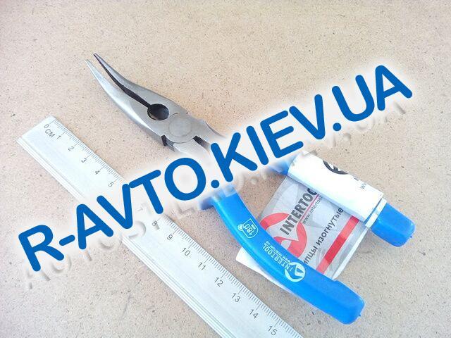 Щипцы удлиненные Inter Tool 180 мм (HT-0125) изогнутые