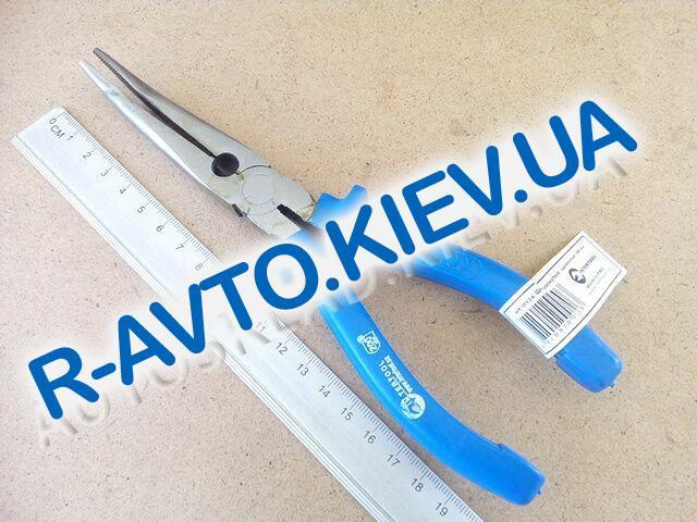 Щипцы удлиненные Inter Tool 200 мм (HT-0126) изогнутые