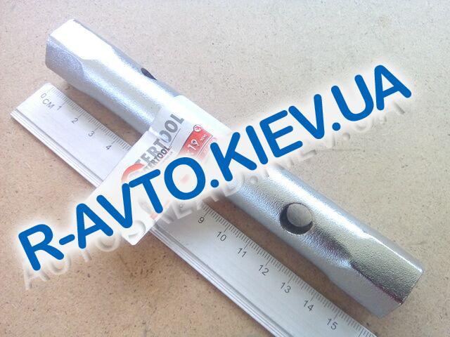 Ключ трубчатый 18х19 мм Inter Tool (XT-4118)