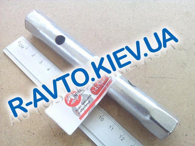 Ключ трубчатый 14х15 мм Inter Tool (XT-4114)