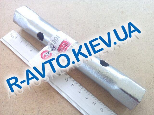 Ключ трубчатый 21х22 мм Inter Tool (XT-4121)