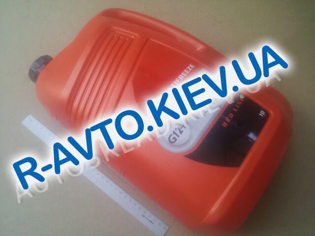 Антифриз LUXOIL LONG LIFE G12+ (-40) (красный) 10 кг.