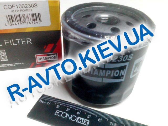 Фильтр масляный ВАЗ 2108, CHAMPION (COF100230S) маленький