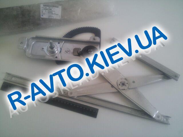 """Стеклоподъемник Aveo передний правый мех. """"GM"""" Корея (96648944)"""