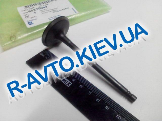 """Клапана Aveo 1.5, """"GM"""" Корея (96335947) впуск 1 шт."""