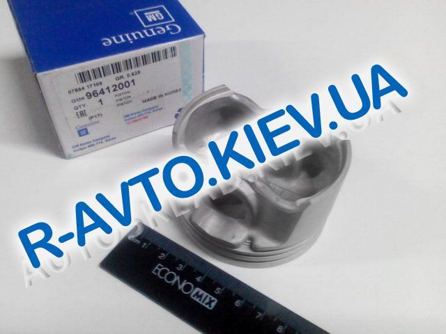 Поршень Aveo 1.5  76,50 стандарт, GM (96412001) (продаются только к-т 4 шт)