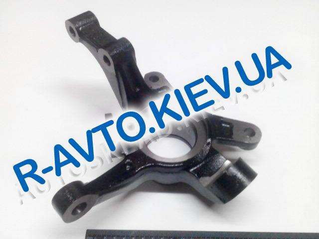 Кулак поворотный Aveo, SHIN KUM (96870491) левый с АБС