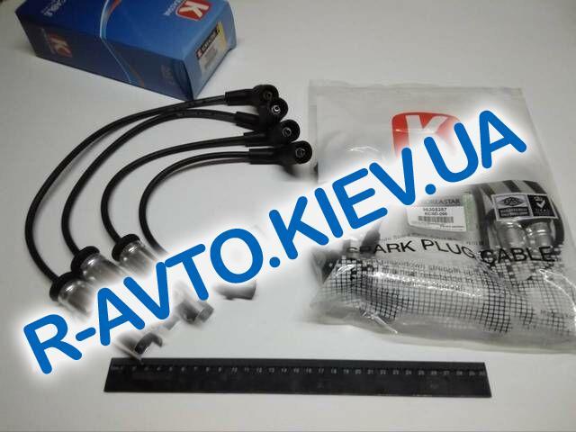 Провода Lanos 1.5, KOREASTAR (KCSD-006) силикон (с метал. након.)