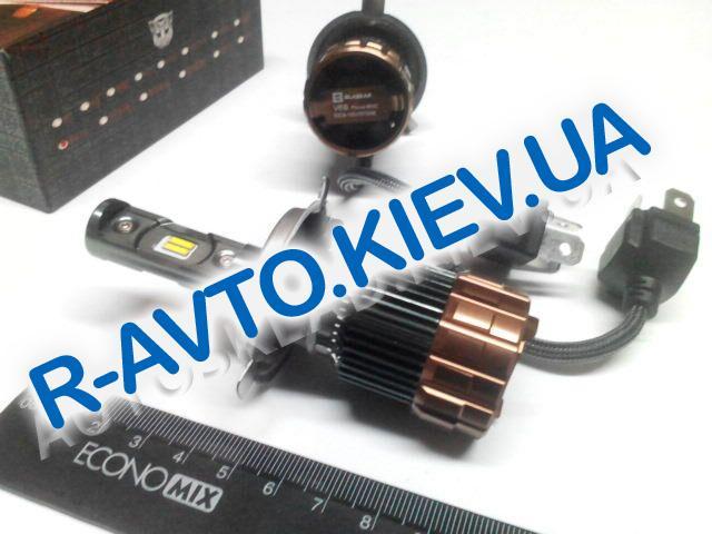 Лампа светодиод с|ц H4 V6s Focus EMC (с вентилятором) (пара)