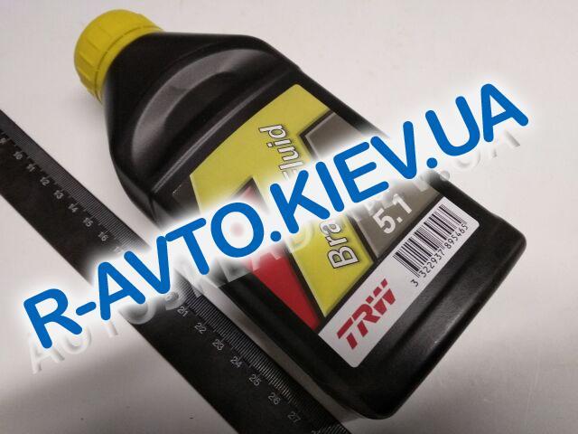 Тормозная жидкость TRW DOT-5.1  0,5 л. (PFB550)