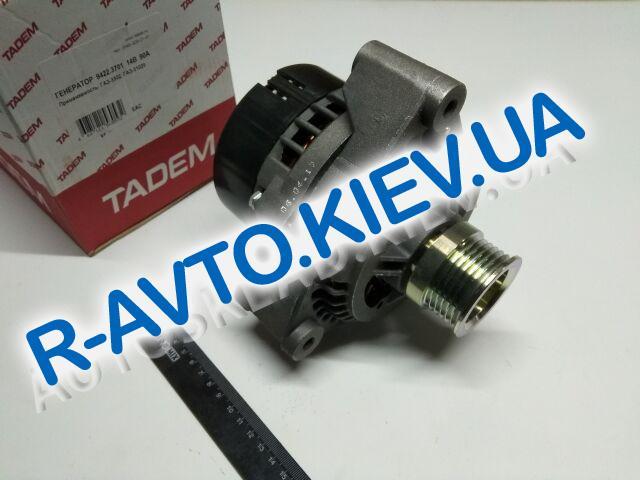 Генератор ГАЗ 406 дв. 110А, КЗАТЭ (9422.3701000)