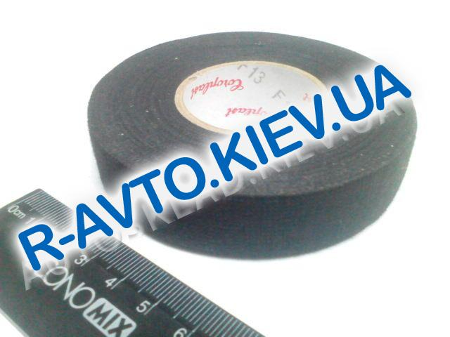 Изолента тканевая Coroplast 19мм*25 м черная