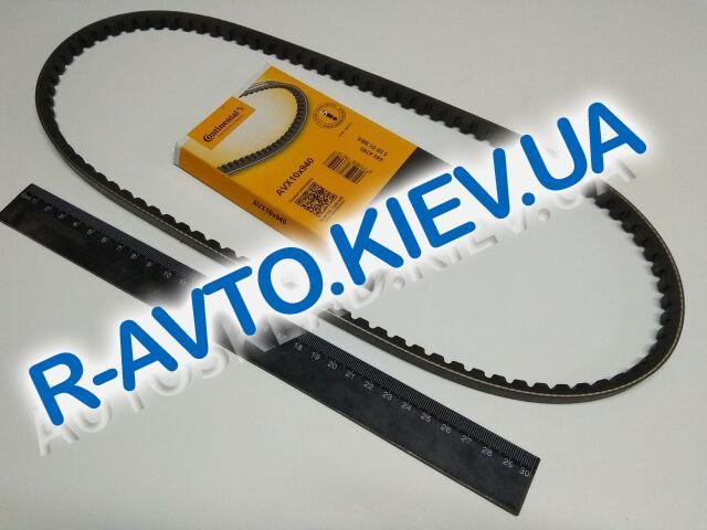 Ремень генер. ВАЗ 2101 зубчатый, 940, Conti Tech (10X940)