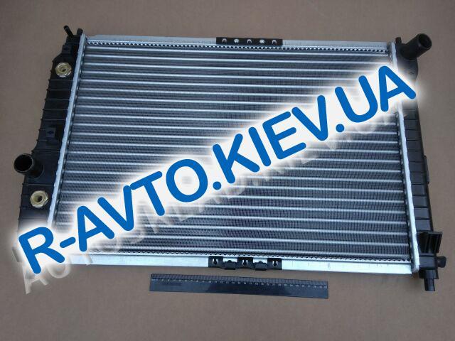 Радиатор охлаждения Aveo (АКПП) (с конд.), TEMPEST (TP.15.61.637 ) (L=600)