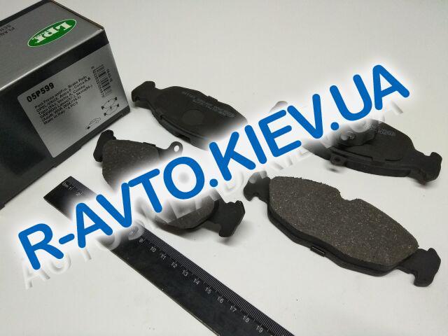 Колодки перед. торм. Nexia 1.5  8v, LPR (05P599)
