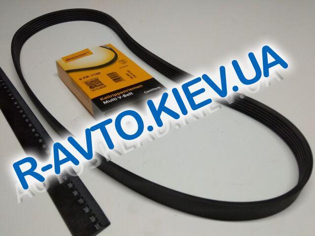 Ремень генер. ручейковый ВАЗ 2110, 2170 (с ГУР + кондиционер), CONTI TECH (6PK1120)