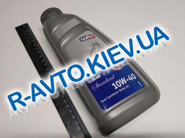 Масло моторное 4T 10W-40 п|синт. LUXE Standart  SG|CF JASO-MA 1л.
