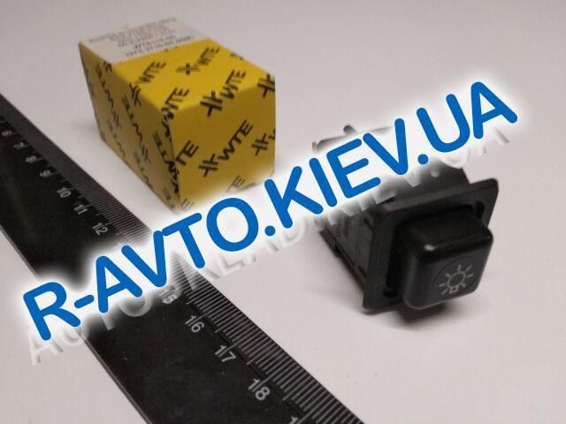 Включатель-кнопка света ВАЗ 2108 низк. панель, Таврия, WTE (WTE110-05)