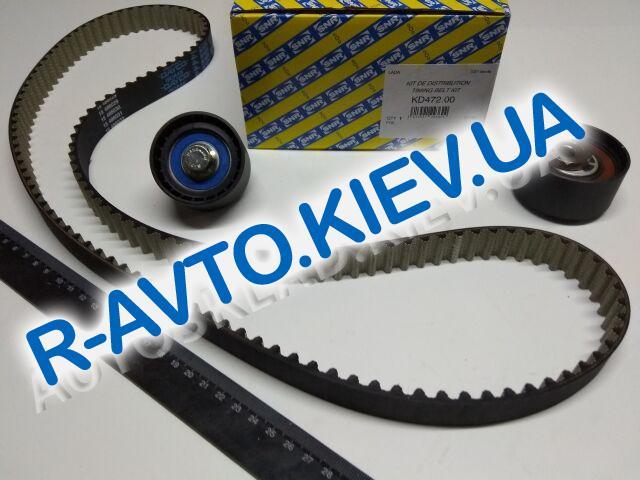 Ремень ГРМ+ролики ВАЗ 2170, SNR (KD472.00) к-т