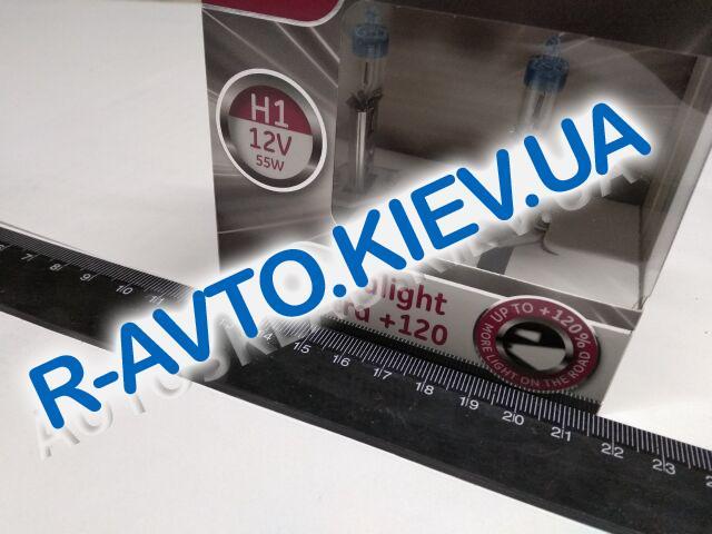 Лампа General Electric H1 12V 55W Megalight Ultra +120% (50310NU.2D) пара