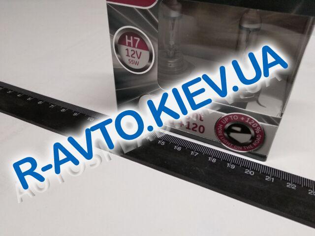 Лампа General Electric H7 12V 55W Megalight Ultra +120% (58520SNU.2D) пара
