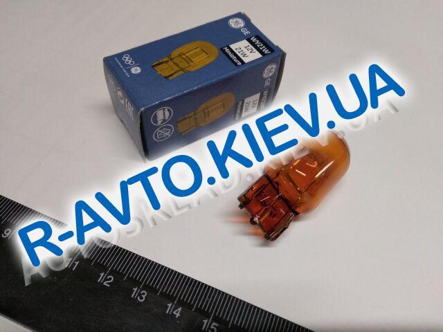 Лампа бесцокольная General Electric 12V WY21W 12|21 (7440NA.1K) оранжевая 1 шт.
