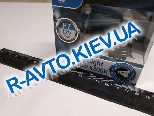 Лампа General Electric H7 12V 55W Sport Light Ultra 4200K Xenon Effect +30% (58520SBU.2D) пара