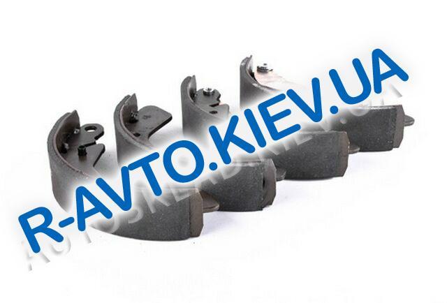 Колодки задние тормозные Aveo AURORA (BP-CH0010R)