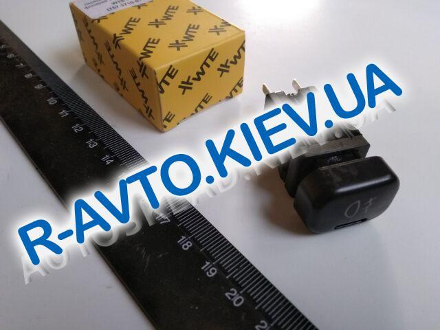 Включатель-кнопка противотуман. фар перед. ВАЗ 2108-15,2123, WTE (107-01)