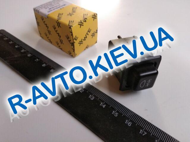 Включатель-кнопка противотуман. фар перед. ВАЗ 2108-093, WTE (110-15)