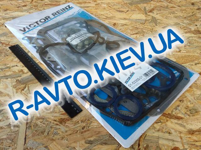 Прокладки дв-ля (полный к-кт) Lanos 1.6, VICTOR REINZ (01-53305-01) + сальники