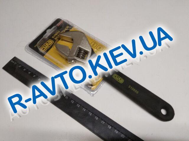 Ключ разводной СИЛА (310656) 0-25|200мм обрезиненный