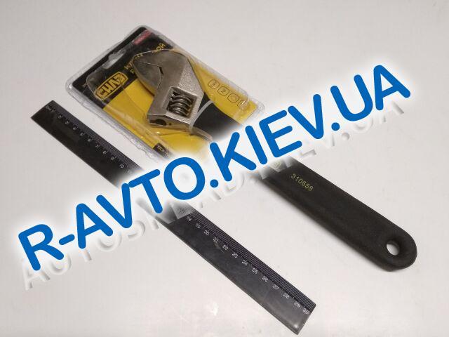 Ключ разводной СИЛА (310658) 0-35|300мм обрезиненный