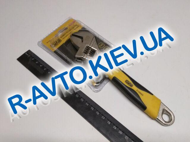 Ключ разводной СИЛА (310660) 0-25|200мм профессиональный