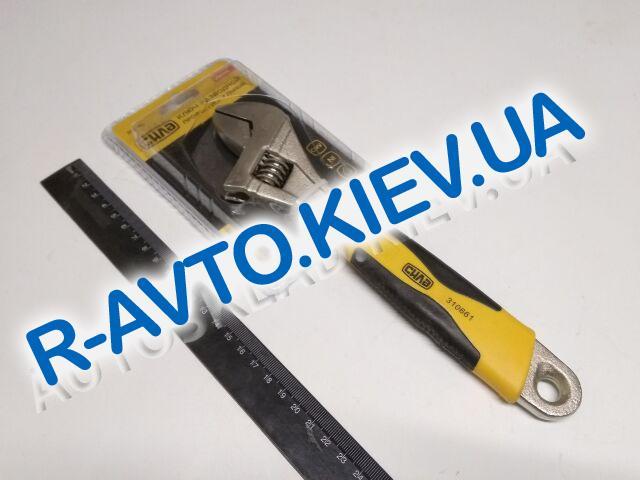 Ключ разводной СИЛА (310661) 0-30|250мм профессиональный