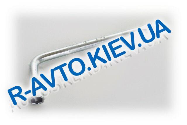 Ключ балонный (Г-образный) СИЛА (202617) 17x350 мм