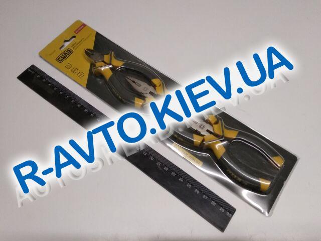 Набор губцевого инструмента СИЛА (310206) обрезиненный|малые