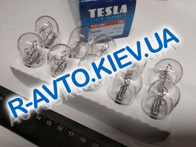 Лампа бесцокольная TESLA 12V W21|5W (B62401) (10 шт. в уп.)