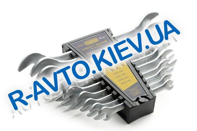 Ключи (набор) СИЛА (201234) 10 шт. в пластике|CrV|рожковые