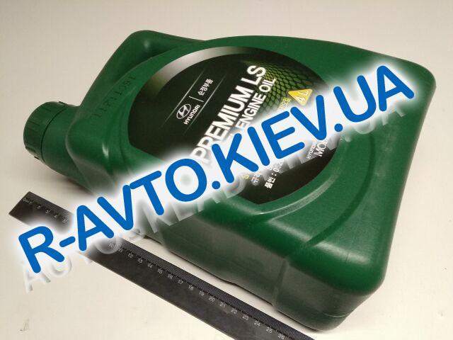 Масло моторное  5W-30 синт. HYUNDAI Premium LS Diesel  4л