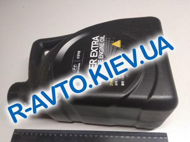 Масло моторное  5W-30 синт. HYUNDAI Super Extra Gasoline  4л