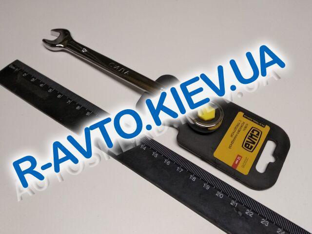 Ключ рожково-накидной 12 мм СИЛА (202016) CrV|с трещеткой