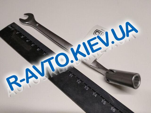 Ключ рожково-накидной  8 мм СИЛА (201508) CrV|с шарниром