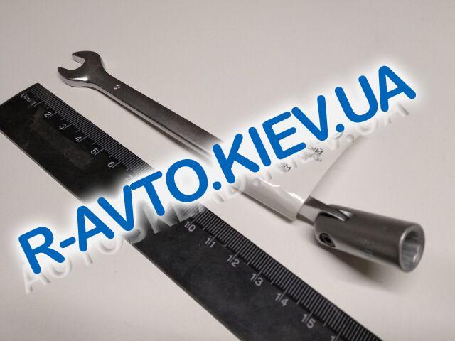 Ключ рожково-накидной  9 мм СИЛА (201509) CrV|с шарниром