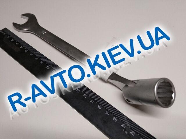 Ключ рожково-накидной 17 мм СИЛА (201517) CrV|с шарниром