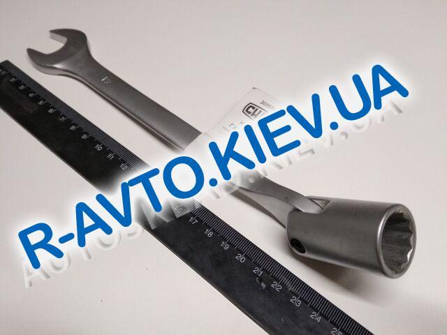 Ключ рожково-накидной 19 мм СИЛА (201519) CrV|с шарниром