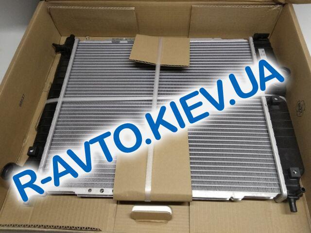 Радиатор охлаждения Aveo (МКПП), NISSENS (61636) L=480